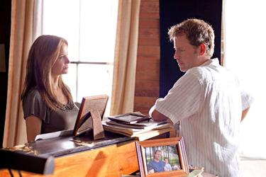 Kelly Preston and Greg Kinnear in &quot;The Last Song.&quot;